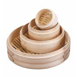 Sito bambusowe do gotowania na parze Tom-Gast 210 mm T-PD-543