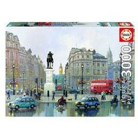 Puzzle, Puzzle 3000 Charning Cross Londyn - Educa Borras