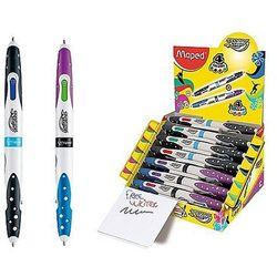 Długopis dwustronny Twin Tip Basic 4 kolorowy Maped