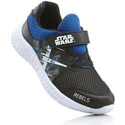 Sneakersy Star Wars bonprix czarno-niebieski