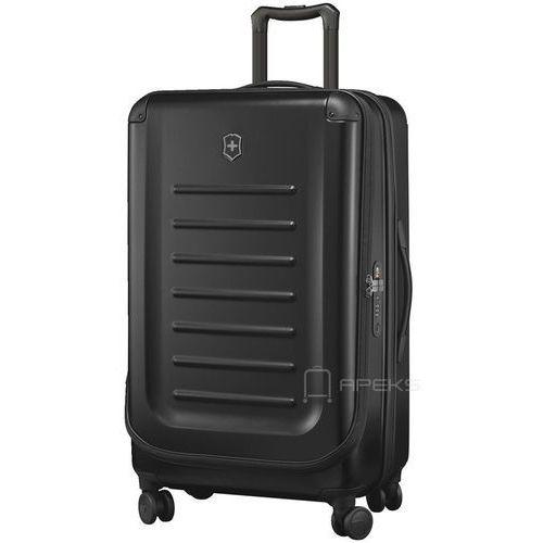 Torby i walizki, Victorinox Spectra™ 2.0 duża walizka poszerzana 78 cm / czarna - Black ZAPISZ SIĘ DO NASZEGO NEWSLETTERA, A OTRZYMASZ VOUCHER Z 15% ZNIŻKĄ