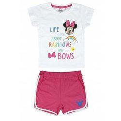 Disney piżama dziewczęca Minnie 110 biały/różowy