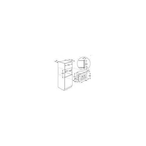 Ekspresy do kawy do zabudowy, Electrolux EBC54524