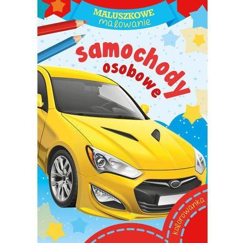 Książki dla dzieci, Maluszkowe malowanie. Samochody osobowe (opr. miękka)