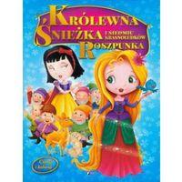 Książki dla dzieci, Czytaj i koloruj - Królewna Śnieżka / Roszpunka (opr. miękka)