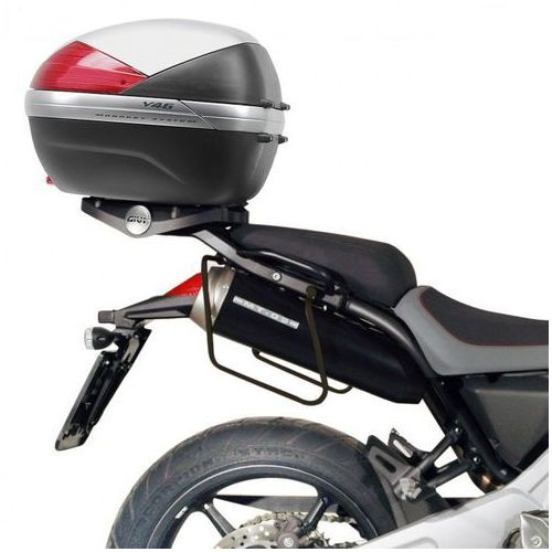 Stelaże motocyklowe, GIVI STELAŻ SAKW BOCZNYCH 3D600 - TRIUMPH STREET TRIPLE 675 (07 > 12)