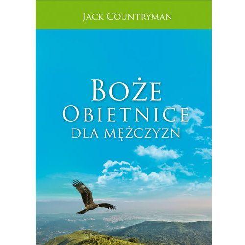 Książki religijne, Boże obietnice dla mężczyzn - Jack Countryman (opr. twarda)