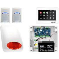 Zestawy alarmowe, Zestaw alarmowy Ropam OptimaGSM 2 x Czujka Bosch Manipulator dotykowy TPR-4WS GSM