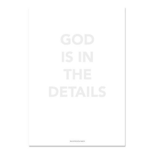 Plakaty, Plakat God is in the details