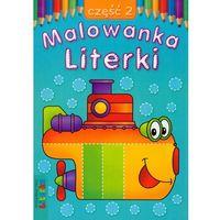 Książki dla dzieci, Malowanka Literki. Część 2. - Judyta Wodnicka, Lidia Szwabowska (opr. miękka)