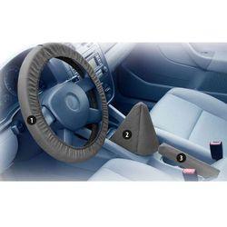 Pokrowiec na kierownicę, dźwignie biegów i hamulca