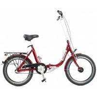 Pozostałe rowery, Aluminiowy rower składany SKŁADAK niska rama MIFA 3-biegi SHIMANO NEXUS biały