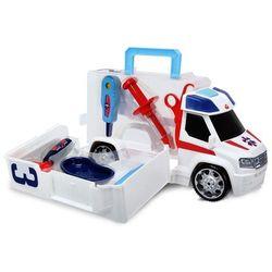 Ambulans z zestawem lekarskim