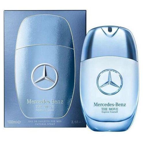 Pozostałe zapachy, Mercedes-Benz The Move Express Yourself woda toaletowa 100 ml dla mężczyzn