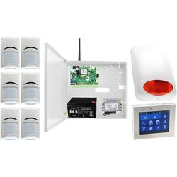 System alarmowy Ropam NeoGSM-IP-PS + 6xBosch+ TPR-1 + Sygnalizator