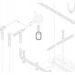 HATZ 50251500 Filtr paliwa 2L30 3L30 4L30 2L40 3L40 4L40 2L31 3L31 4L31 2L41 3L41 4L41 Oryginalny