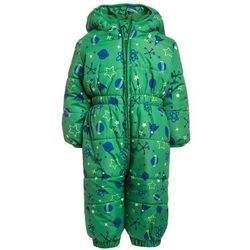 Jacky Baby FUNKTIONSSCHNEEOVERALL OUTDOOR BABY Kombinezon zimowy grün