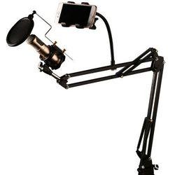 TREMAX CK-100 stołowy statyw mikrofon z filtrem POP