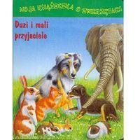 Książki dla dzieci, Duzi i mali przyjaciele (opr. kartonowa)