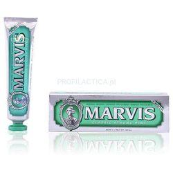 Marvis Classic Strong Mint z Xylitolem - pasta do zębów w stylu retro (85 ml)