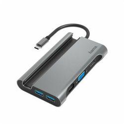 Stacja dokująca HAMA 7w1 USB Typ-C