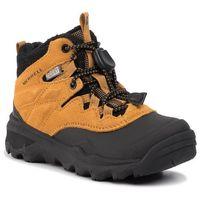 Kozaki dziecięce, Trekkingi MERRELL - M-Thermoshiver Wheat MK260346 Brązowy
