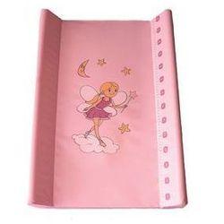 Mata, podkład do przewijania Baby Sky miękki - różowy