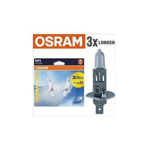 Pozostałe akcesoria do samochodu, Żarówka samochodowa Osram 12V H1 55W P14.5s 1 szt Ultra Life 3x dłuższa żywotność
