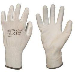 Rękawice ochronne r. S / 6 nylonowe z powłoką poliuretanową