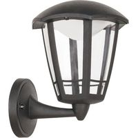 Lampy ścienne, Kinkiet Rabalux Sorrento 8126 lampa ogrodowa zewnętrzna 1x8W LED IP44 czarny matowy