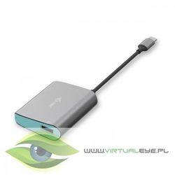 i-tec USB-C Metal 3-portowy HUB 1x USB 3.0 2x USB 2.0