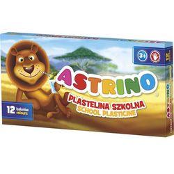 Plastelina szkolna ASTRA Astrino 12 kolorów