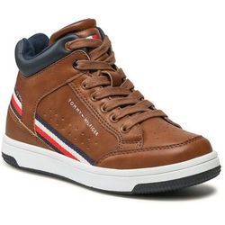 Trzewiki TOMMY HILFIGER - High Top Lace Up Sneaker T3B4-32051-0621 M Tabacco 520