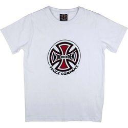 koszulka INDEPENDENT - Truck Co. White (WHITE) rozmiar: 8-10