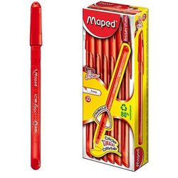 Długopis Ice fine czerwony Maped