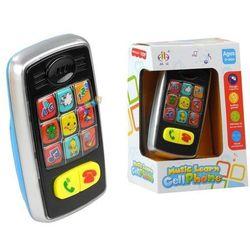Telefon Grający ze Światełkami dla Malucha - Lean Toys