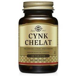 Cynk chelat aminokwasowy 100tabl