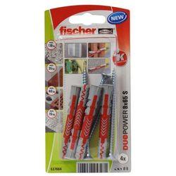Kołek uniwersalny Fischer Duopower 8 x 65 z wkrętem 4 szt.