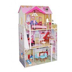 """Drewniany domek dla lalek Barbie """"Lila"""" z windą"""