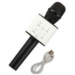 Mikrofon z głośnikiem XREC Karaoke Bluetooth Czarny