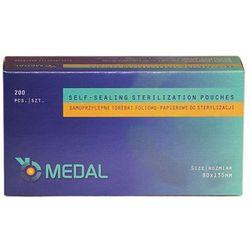 Samoprzylepne torebki foliowo-papierowe do sterylizacji (90 mm x 135 mm)