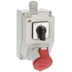 Rozdzielnica elektryczna bez wyposażenia 6274 - 00 / RS - Z 0 - 1 3P + N + Z 32A ELEKTRO-PLAST