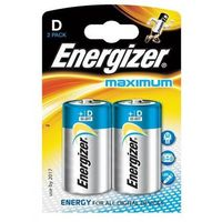 Baterie, Bateria Maximum Alkaliczna D LR20 2 szt. blister