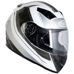 KASK OZONE INTEGRALNY RD-01 PINLOCK READY WHITE/GREY/BLACK