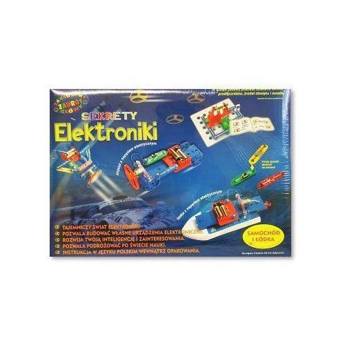Łodzie i statki dla dzieci, Dromader Sekrety Elektroniki, Samochód i łódka