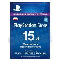 Kody i karty przedpłacone, Sony PlayStation Network 15 zł [kod aktywacyjny]