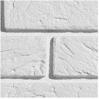 Kamień, PŁYTKA CEGŁOPODOBNA Z FUGĄ PARMA 1 WHITE PŁYTKA OPAKOWANIE 0,5M2 FIRMY STEGU