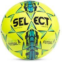 Piłka nożna, Piłka halowa Select Futsal Mimas żółto-niebiesko-zielona