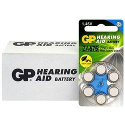 60 x baterie do aparatów słuchowych GP 675 / ZA675 / PR44