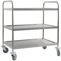 Wózki na żywność, Wózek kelnerski 3-półkowy Stalgast 661030